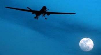Predator Drone Over Kandahar (Photo KirstTV Wigglesworth/AP)